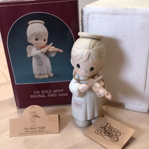 """🌻2/$40Precious Moments Special Ed """"Oh Holy Night"""""""